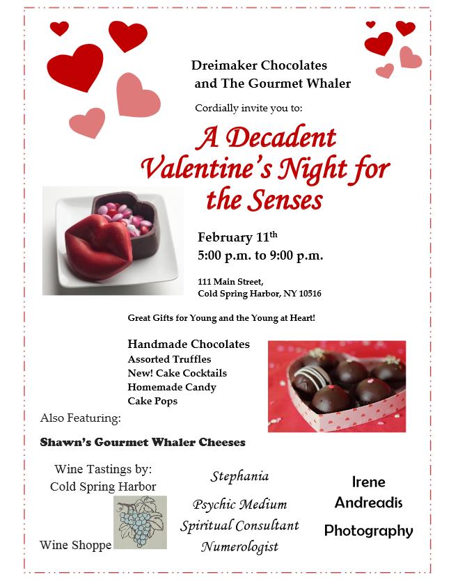 Gourmet Whaler Valentine's Day Event